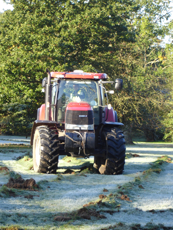 We have the appropriate equipment to work effectively in an agricultural environment.