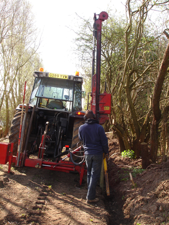 We offer a large range of agricultural services, from construction to conservation.