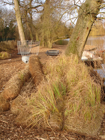 Erosion matting is an unobtrusive erosion defence, blending neatly into natural surrounds.