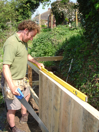 We create bespoke revetments from high-quality, durable timber.