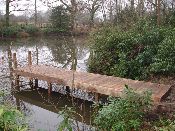 We can construct and install a range of pontoons and jetties to allowed improved access to the water.