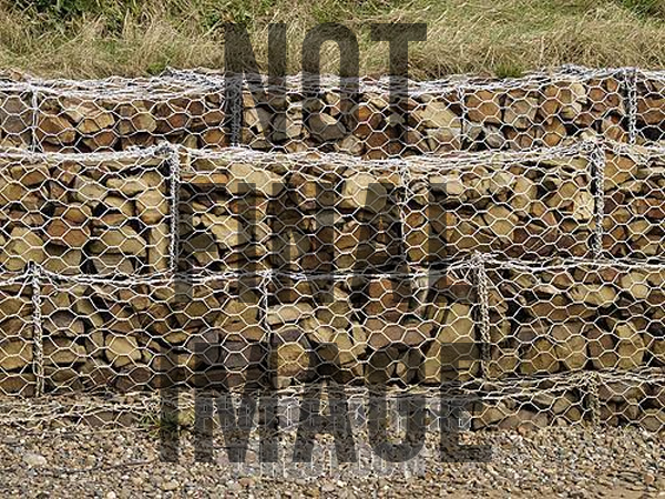 Rock Gabions can provide long-term defence for large scale projects.